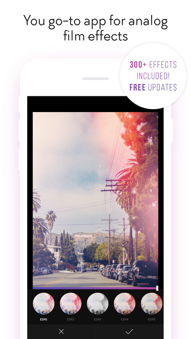 Screenshot Filterloop Pro - Analog Film Filters And Effects