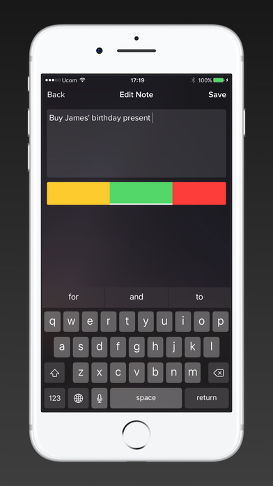 TodayNote - Note with today widget Screenshots