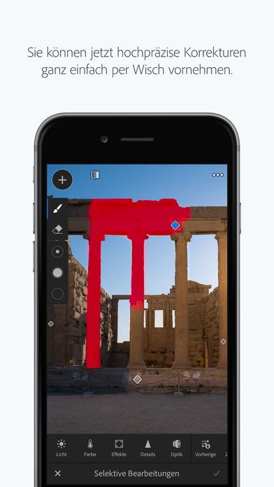 Adobe Photoshop Lightroom for iPhone Screenshot
