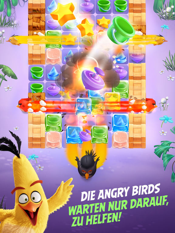 Screenshot 5 Angry Birds Match