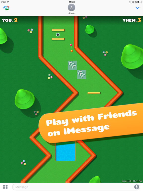 Screenshot 2 Mini Golf Battle