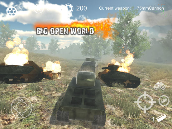 Screenshot 3 Realistic Battle Tank