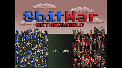 Screenshot 8bitWar: Netherworld
