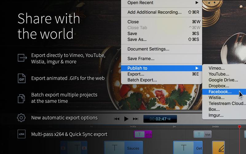 ScreenFlow 7 Screenshots