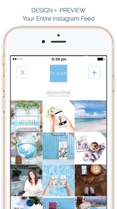 Plann - Planner, Scheduler, Analytics - Instagram Screenshot