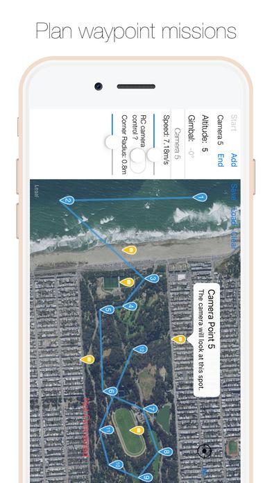 Drone Director - Automatic flight modes for DJI Screenshot