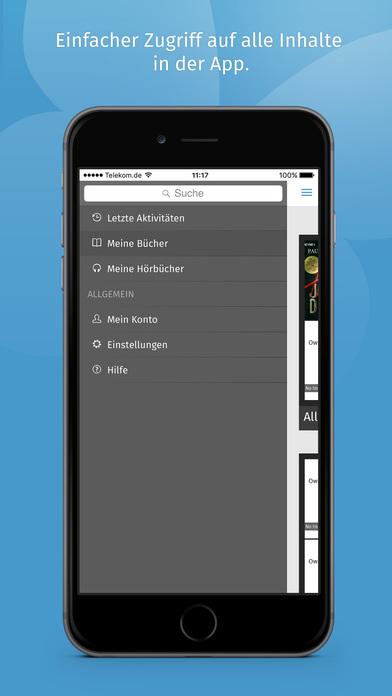 tolino lese app ebooks b cher reader epub ebook app im app store. Black Bedroom Furniture Sets. Home Design Ideas