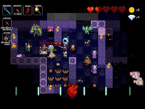 Screenshot 4 Crypt of the NecroDancer Pocket Edition