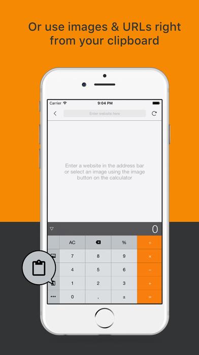 Half a Calc - Image viewer, Browser & Calculator Screenshots