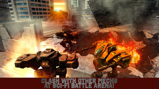 City Mech Battlefield 3D Full Screenshots