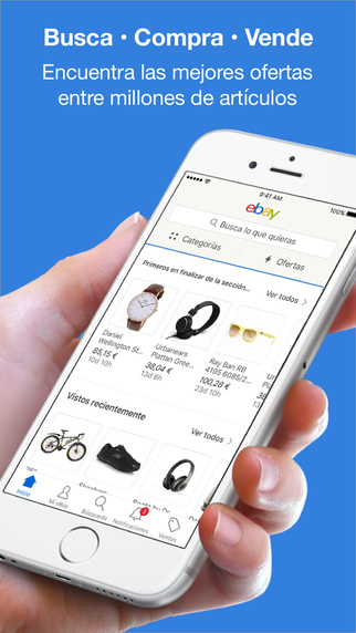 eBay – Compra, puja y vende Screenshot