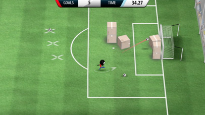 Stickman Soccer 2016 iPhone app afbeelding 4