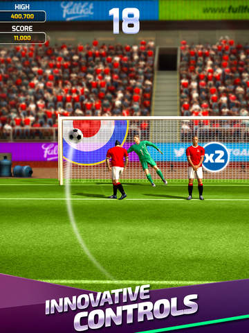 Flick Soccer 17 iPhone iPad