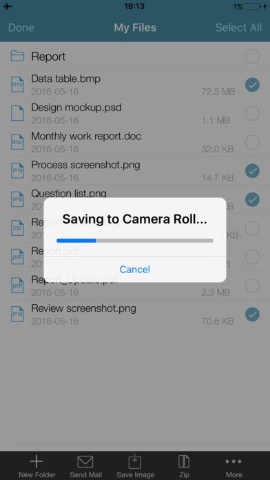WinZip: #1 Herramientas de compresión/descomprimir Screenshot