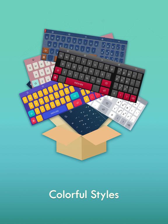 Path Input - Meilleur clavier glissant iPad
