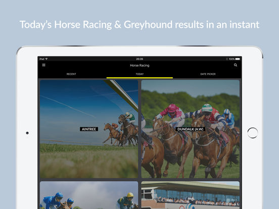 horse racing results app