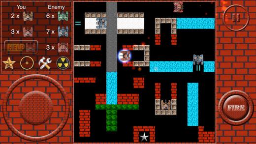 Super Tank Battle R - FC Tank Screenshots