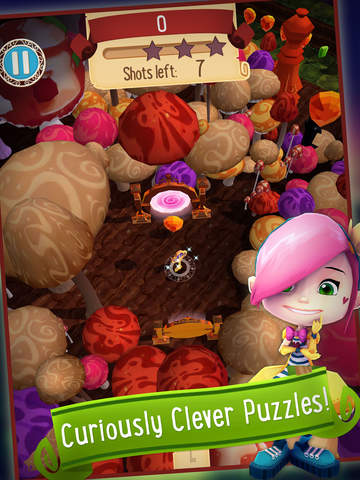Alice in Wonderland Puzzle Golf Adventures iPhone iPad