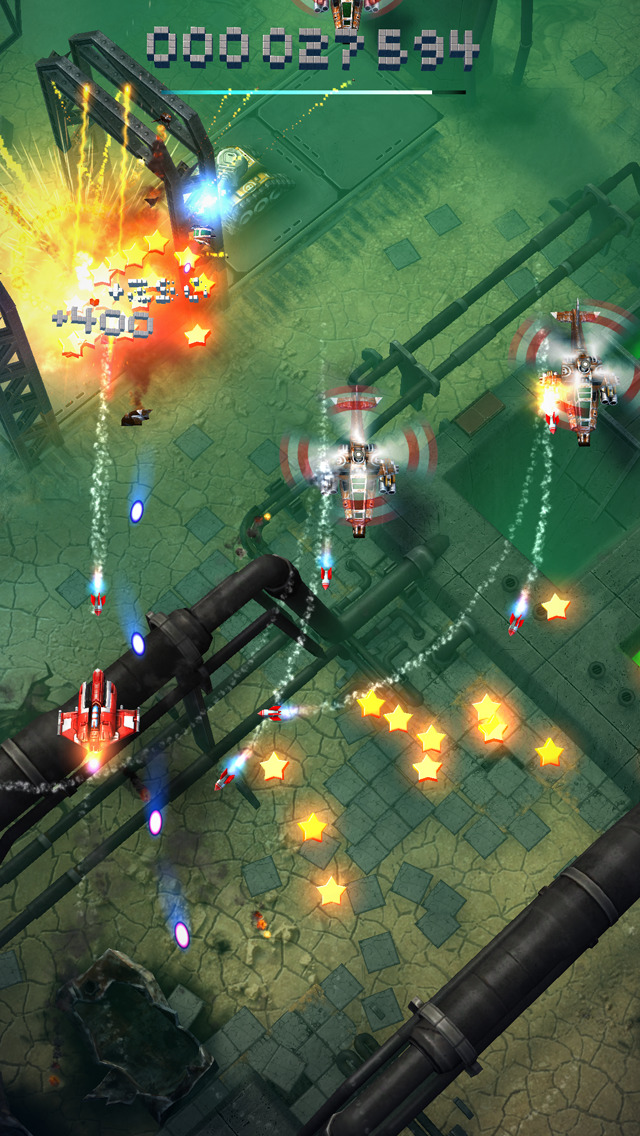 Sky Force Reloaded iOS Screenshots