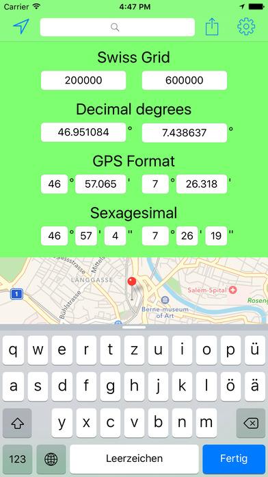 download Swiss Grid Outil Coordonnées apps 2