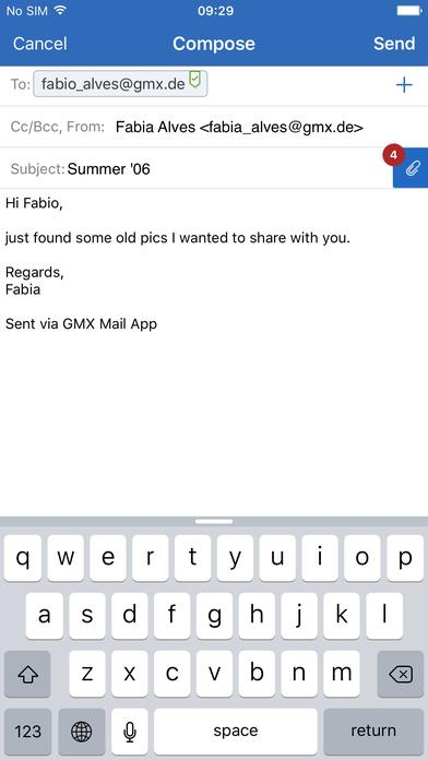 gmx de app
