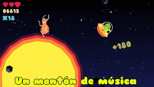 Planet Quest Ritmo Screenshot