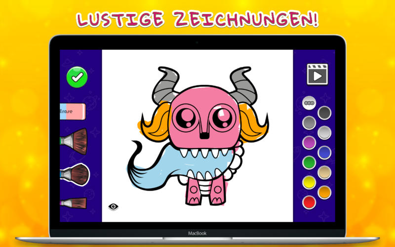 Malbuch - Monsters Screenshot