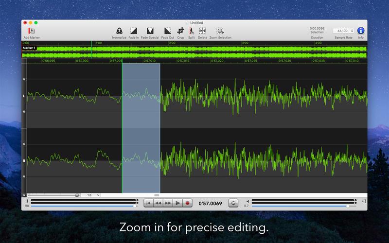 Sound Studio Screenshots