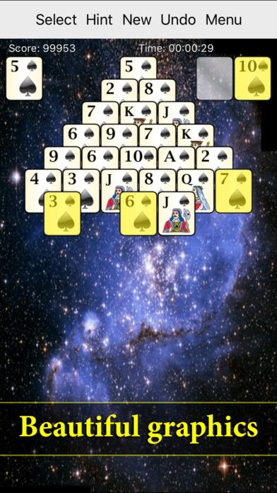 700 Solitärspiele für iPhone Screenshot
