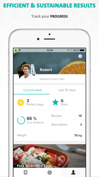 Freeletics Nutrition - Your Clean Eating Coach Screenshot
