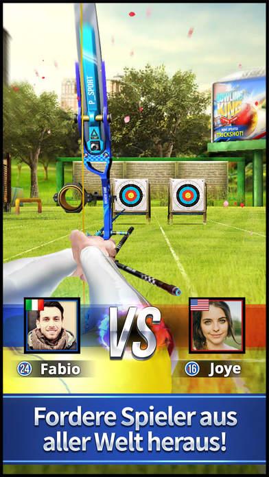 Archery King iOS Screenshots