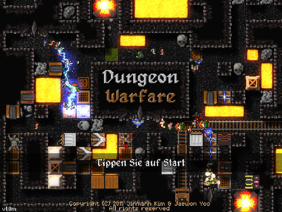 Dungeon Warfare iOS Screenshots