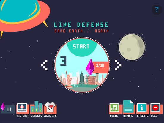 LINE DEFENSE Screenshot