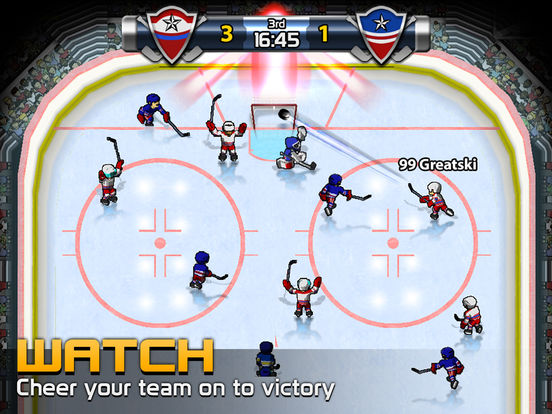 Big Win Hockey Screenshot