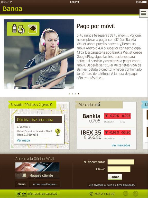 Bankia en el app store - Bankia oficina movil ...