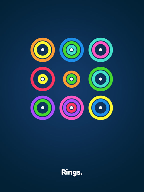 Rings. iOS Screenshots