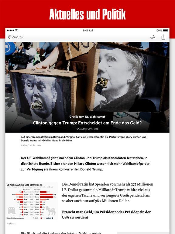 stern News - Nachrichten aus Politik, Sport, Wirtschaft, Kultur und Unterhaltung Screenshot