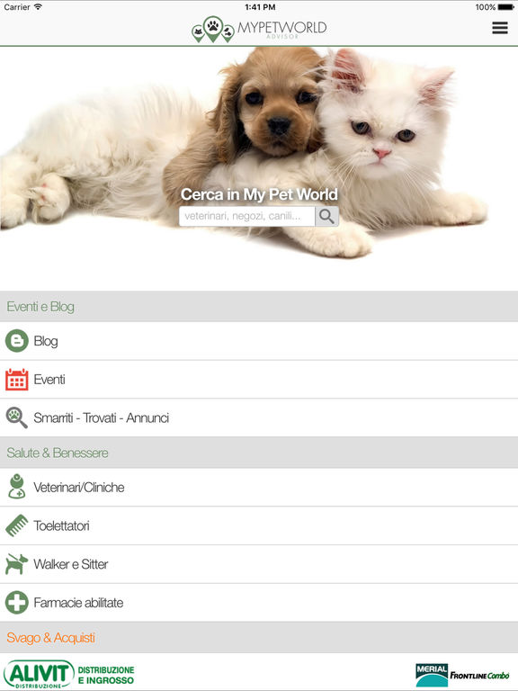 myPetWorld Screenshot
