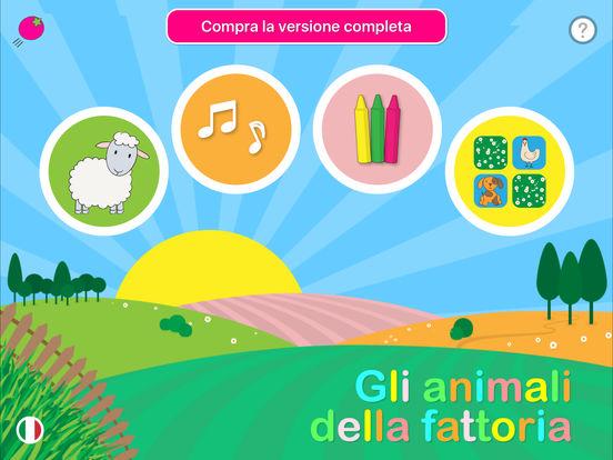 Gli animali della fattoria giochi educativi e divertenti for Grandi planimetrie della fattoria
