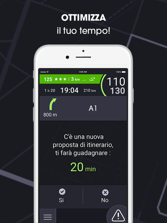 iCoyote: navigazione, traffico, autovelox Screenshot