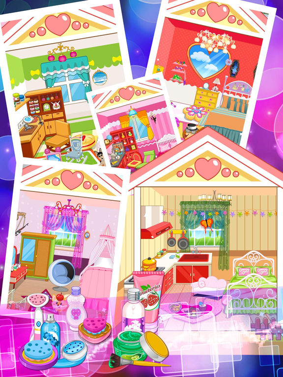 Princess Room Girls Room Decoration Makeup Makeover Games