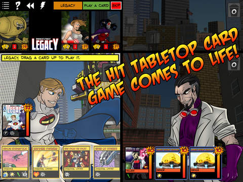 Sentinels of the Multiverse iOS Spiel