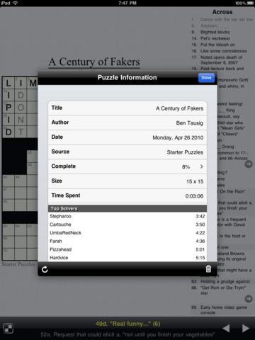 Crucigramas Screenshot