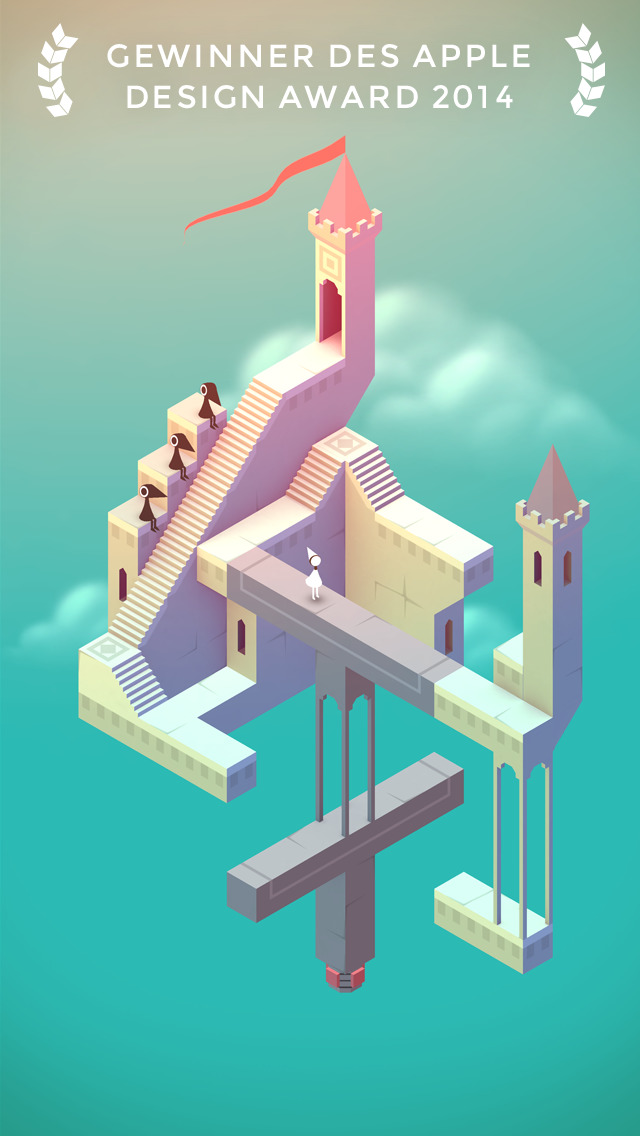 Monument Valley iOS Screenshots