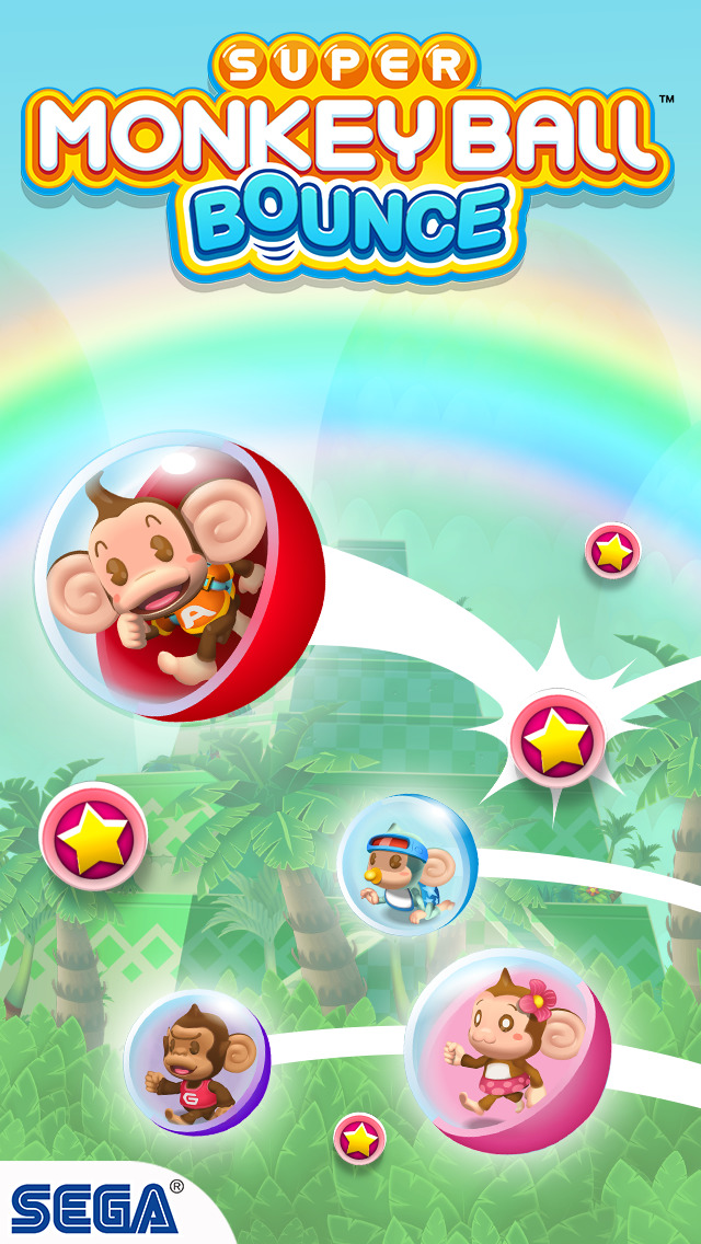Super Monkey Ball Bounce iOS Screenshots