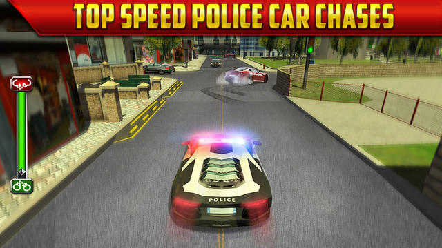 police car parking simulator game gratuit jeux de voiture de course pour iphone ipod touch et. Black Bedroom Furniture Sets. Home Design Ideas