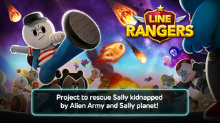 LINE Rangers iOS Screenshots
