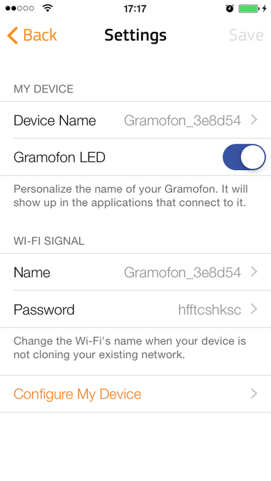 Fon Utility App Screenshot