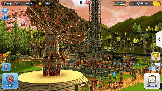 Screenshot 5 RollerCoaster Tycoon® 3