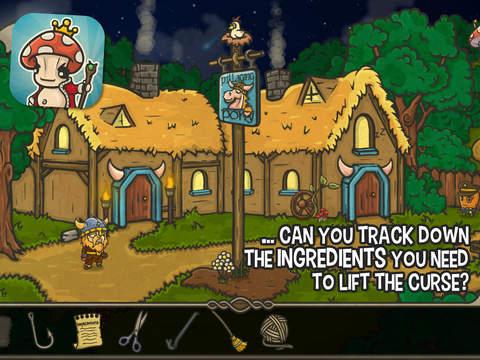 Screenshot 3 Bad Viking and the Curse of the Mushroom King